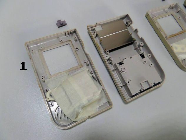 Ricambi Game Boy classic originali (elettronica e case completi) - Foto 5