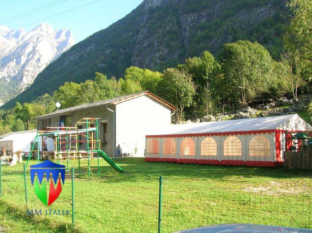 Noleggi in Nord Italia Tendoni Gazebo 4 x 8 pvc ignifugo - Foto 5