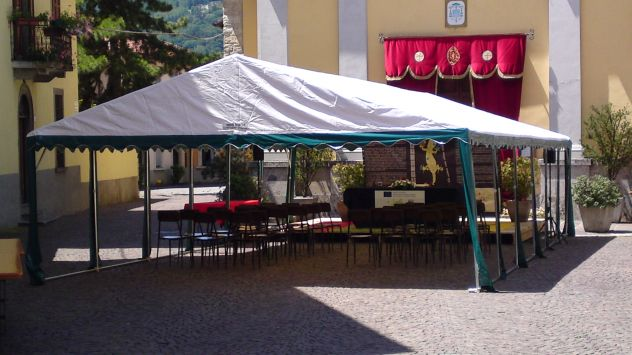 MM Italia Linea Mara Tendoni, Verande 5 x 6  Pvc uso Camping - Foto 4