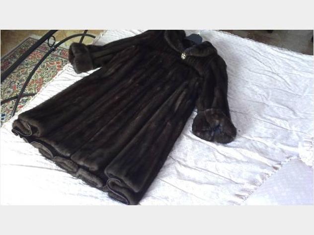 Pelliccia cappotto giubbotto