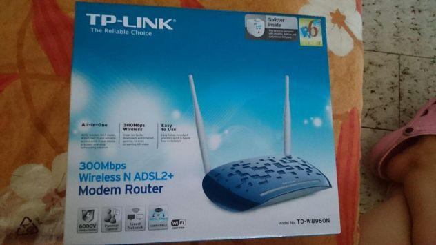 Modem Router ADSL2+ Wireless N 300Mbps TD-W8960N - Foto 3