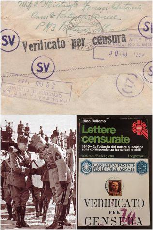 Lettere censurate, Bino Bellomo, Longanesi & C. 1975.
