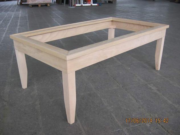 Tavolini In Legno Grezzo Da Salotto : Telaio di tavolino da salotto grezzo annunci como