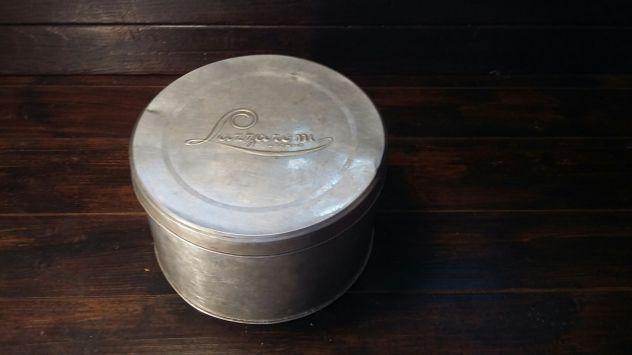 A8 alluminio vecchio scatola d'epoca Lazzaroni