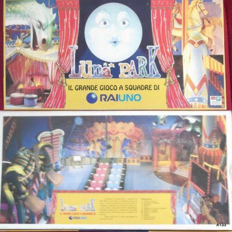 LUNA PARK GIOCO EG PRIMA EDIZIONE 1995