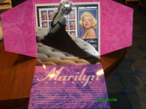 FRANCOBOLLI USA 1995 * MARILYN MONROE *