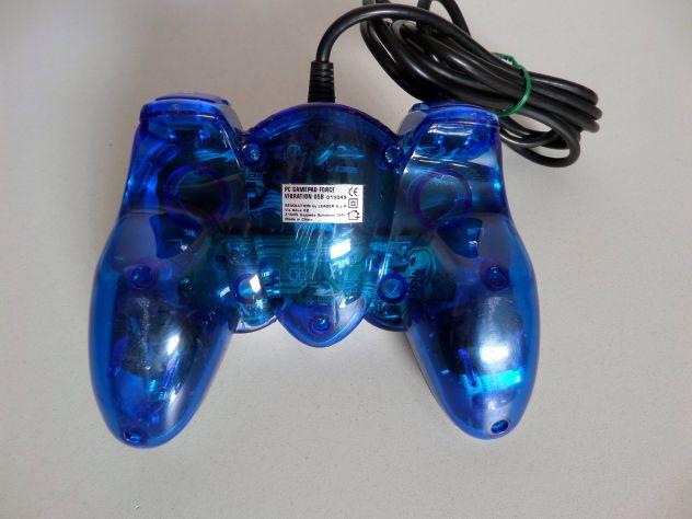 Joypad per PC (stile playstation) con levette + vibrazione, spin. USB - Foto 4
