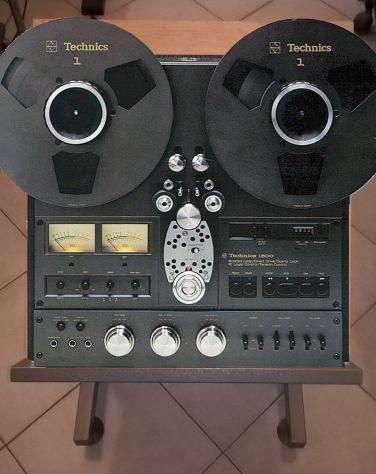 Carrello per registratori a bobina Technics, Revox, Teac, ecc.