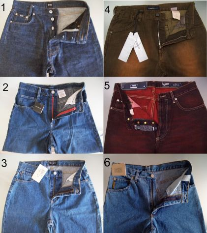 Pantaloni jeans griffati firmati uomo/donna Nuovi