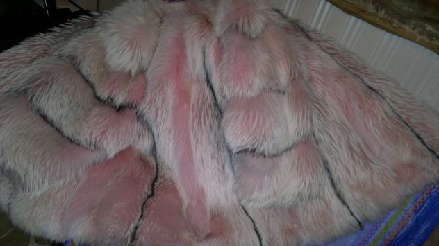 new product 58414 8eb6d Vendo giaccone pelliccia Volpe Rosa