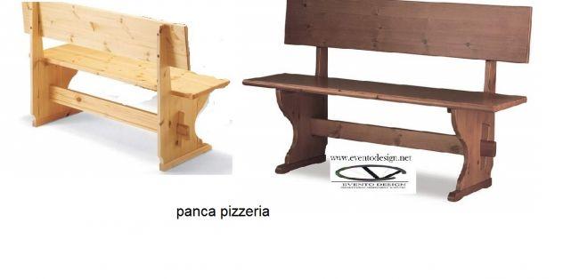 Sedute per pub ristorante pizzeria