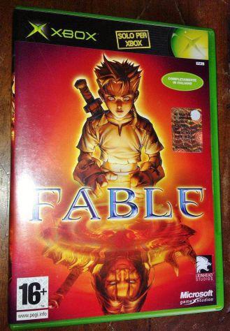 Fable 1 XBOX Microsoft primo modello compatibile XBOX 360, PAL Italiano, Usato