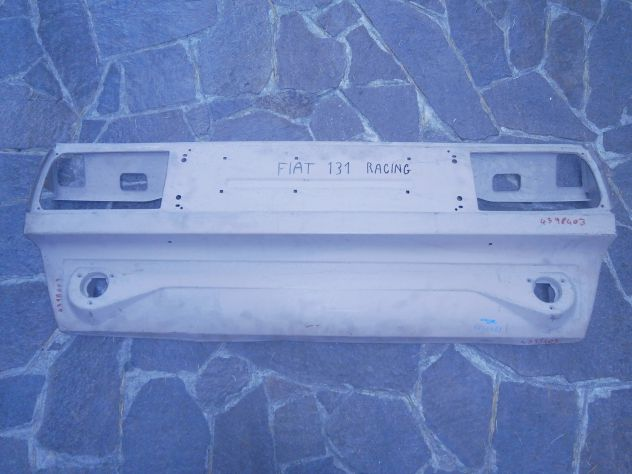 Calandra rivestimento posteriore Fiat 131 racing supemiraf.  Rear panel Fiat 131