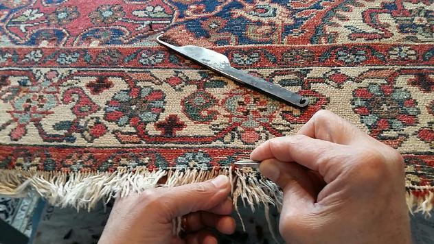 lavaggio profondo tappeto Trieste, restauro tappeti Trieste, 25% sconti - Foto 3