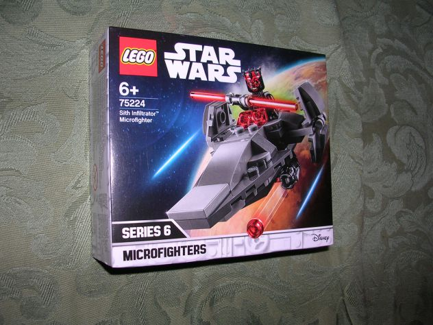 LEGO STAR WARS MICROFIGHTERS-SITH INFILTRATOR