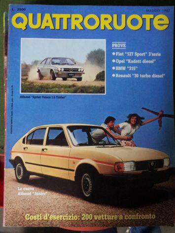 Riviste QuattroRuote 1980 - 81 - 82 - 83 - 84 - 86 - Foto 7