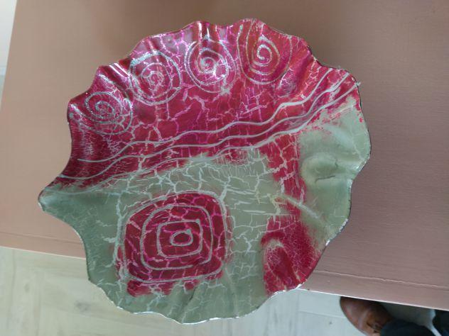 Centro tavolo -cristallo murano