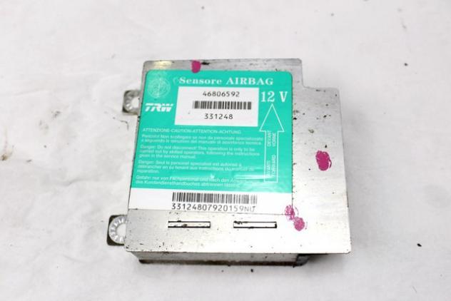 46806592 CENTRALINA AIRBAG FIAT PUNTO 1.9 63KW 3P D 5M (2002) RICAMBIO USATO
