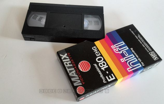 CASSETTE VIDEO VHS MATRIX  180 - USATE - Foto 2