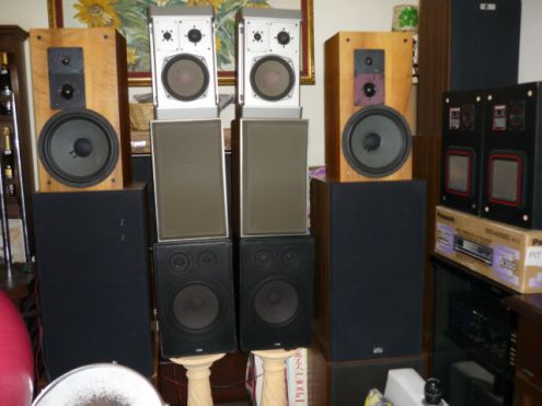 Materiale Audio Vintage, Amply,Gira,Diffusori,ecc..