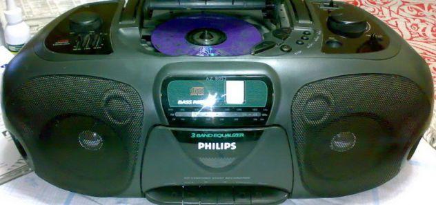 CD Radio & Cassette Recorder PHILIPS AZ 8052