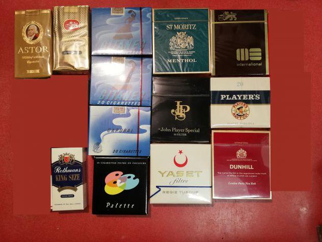 Pacchetti sigarette pieni (Sigillati) anni 60/70/80 da collezione