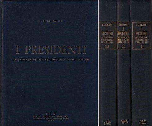 I PRESIDENTI DEL CONSIGLIO DEI MINISTRI DALL'UNITA AD OGGI - Foto 3