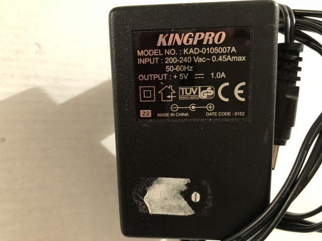 Alimentatore/adattatore KINGPRO Modello KAD-0105007A