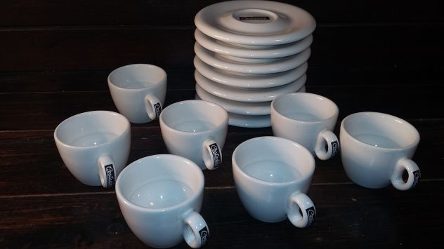 V378 riuso 7 tazzine caffe Costadoro