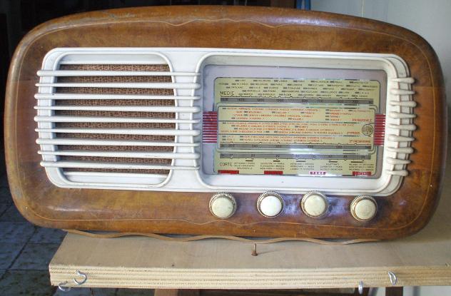 Radio epoca DIAPASON noce bachelite 1950 Vintage