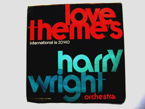 45 giri del 1974-Harry Wright orchestra-Love 's theme