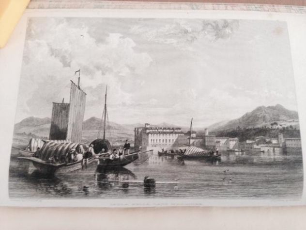THOMAS ROSCOE THE TOURIST IN ITALY. LANDSCAPE ANNUAL 1832 - Foto 4