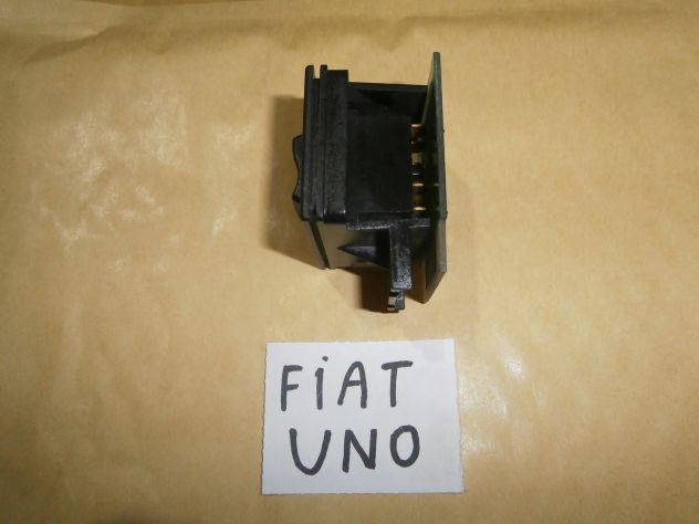 Interruttore pulsante vetri elettrici Fiat uno turbo  i.e. 1°s prima serie  … - Foto 5