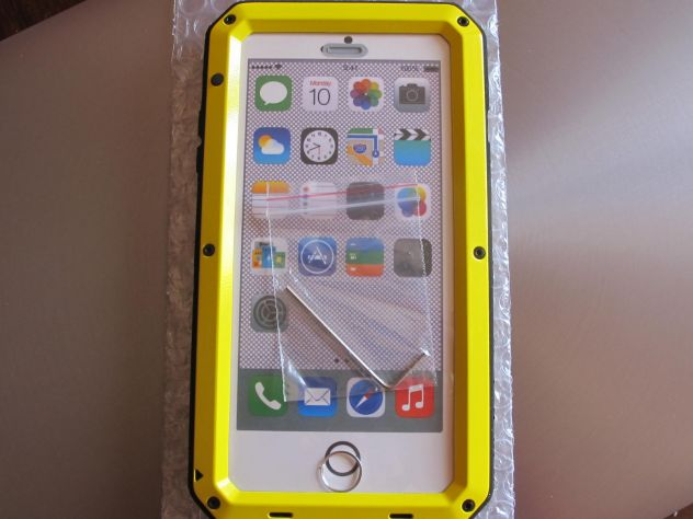 Waterproof alluminio gorilla metal cover case x iphone 7/7 plus ...