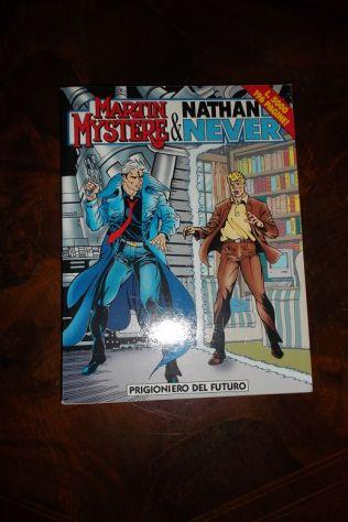 speciale martin mystere e nathan never:prigioniero del futuro(s.b.,96