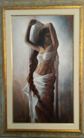Eclissi dipinto Giorgio Dante