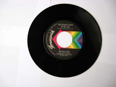 45 giri del 1972-The Chi-Lites-The coldest days of my life - Foto 2