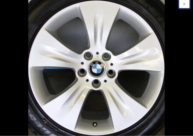 cerchi in lega BMW X5 19 pollici vendo