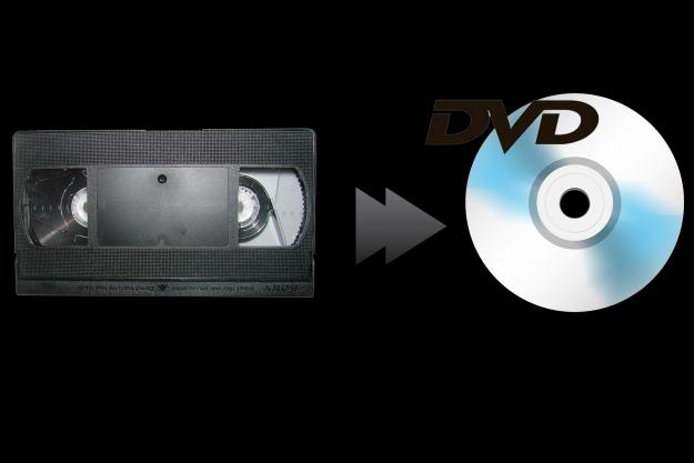 Conversione Video Analogica da VHS in Digitale DVD 8 Euro