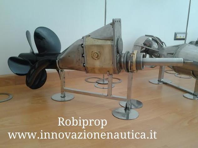 brevetto per linea d'asse controrotante Nuovo Euro 100 - Foto 5