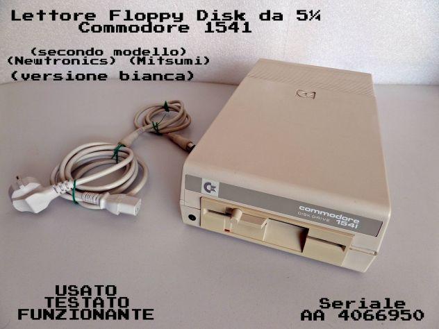 Lettore Floppy Commodore 1541 (mitsumi) BIANCO