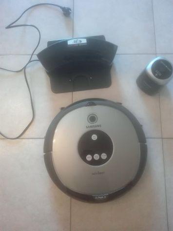 Robot aspirapolvere samsung con virtual guard