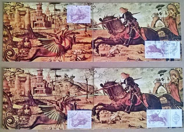 (G&B ) Cartoline: Maxi Card Italia 1976