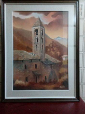 Quadro del pittore piemontese Roberto Giulietti