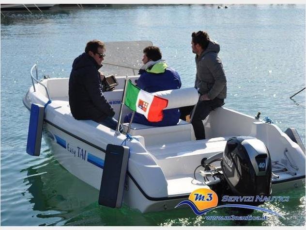 barca a motore Easy Tai 17 anno2005 lunghezza mt5 - Foto 4