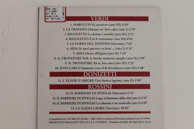 CD Musica Lirica Originali - Foto 6