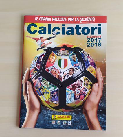 Album figurine calciatori 2017 2018 nuovo Panini