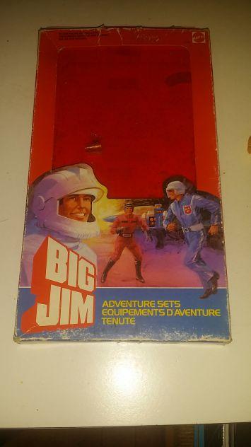 Big jim adventure sets 1984 mattel
