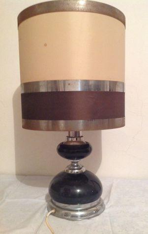 Grande Lampada paralume vintage Anni '60