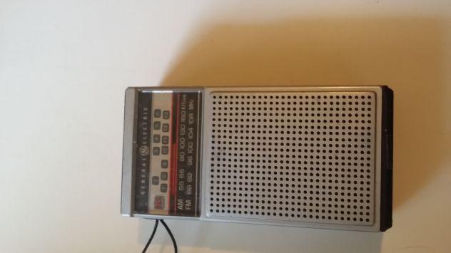 general electric transistor d'epoca